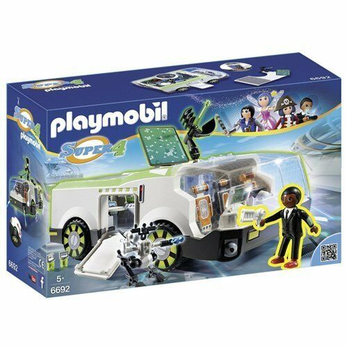 Playmobil 6692 Super 4 Techno Chameleon with Gene BNIB SHIPS FAST