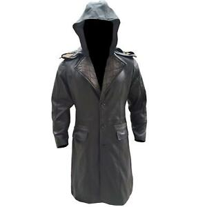 Mens-Assassin-Creed-Syndicate-Quilted-Black-Leather-Removable-Hoodie-Coat