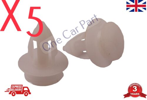 5x RENAULT 9 12 SKODA CITROEN Rocker Door Panel Trim Moulding Insert Clips