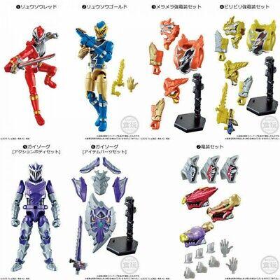 BANDAI Kishiryu Sentai Ryusoulger Xyloue Five Knights /& Dime Volcano 8 type set