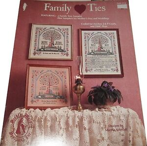 FAMILY-TIES-CROSS-STITCH-LEAFLET-BOOK