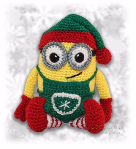 Minion Christmas Elf Crochet Pattern PDF Read Description