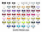 54 Classic Fashion Kids Boy's Youth Mens Adjustable Tuxedo Bowtie Bow Tie Solid