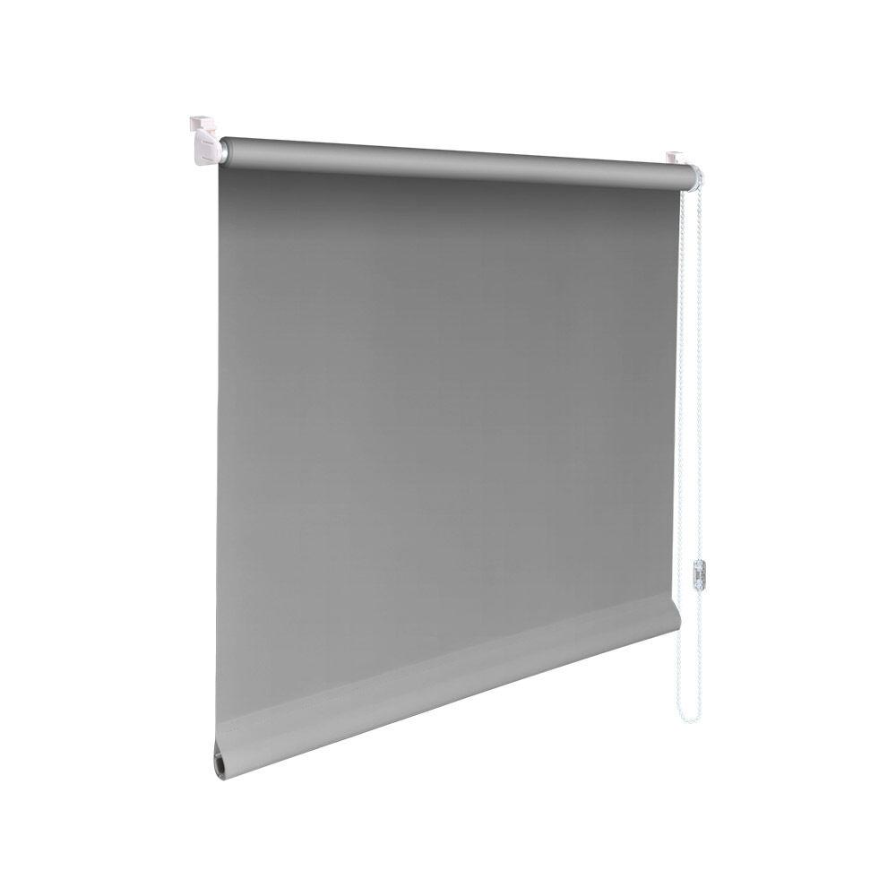 Minirollo Klemmfix Rollo Verdunkelungsrollo - Höhe 160 cm grau  | Gewinnen Sie das Lob der Kunden  | Qualität  | Ermäßigung