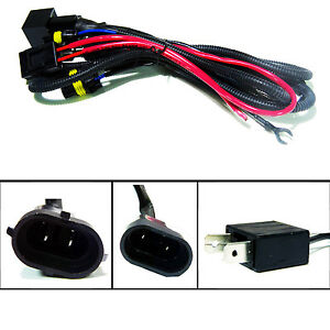 high performance hid xenon wire relay harness 9006 9005 ... hid l wiring diagrams 9012 hid wiring diagrams #9
