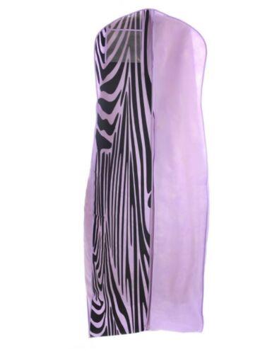 Light Purple Wedding Gown Garment Storage Bag Soft Travel Friendly Storage