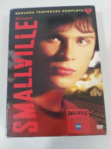 Smallville Deuxième Saison 2 Complète Superman - 6 X DVD Castillan English Am