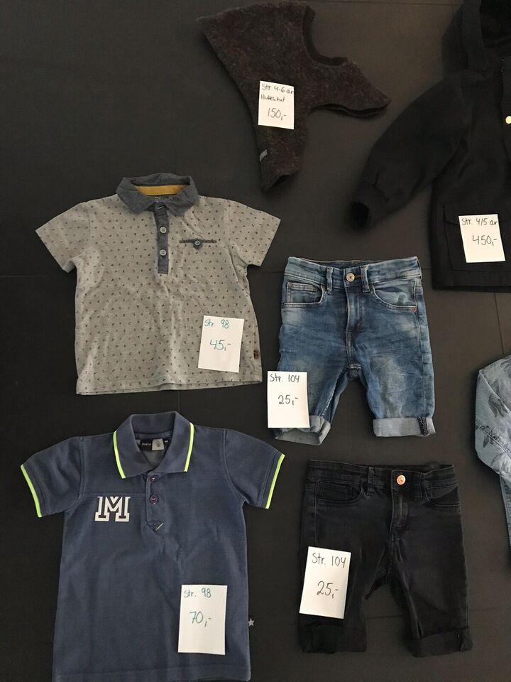 Blandet tøj, Jeans, jakke
