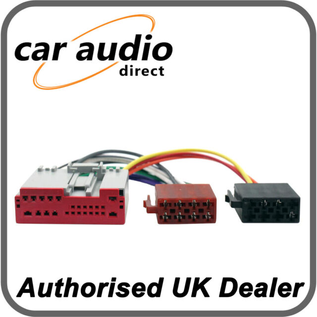 CT20FD06 Car Stereo Wiring Harness ISO Adaptor Lead for Ford Fiesta on