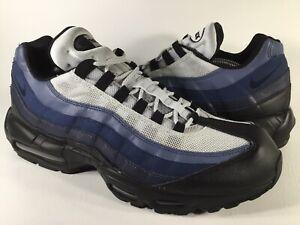 Nike Air Max 95 Essential Obsidian Navy Blue Black Grey Mens ...