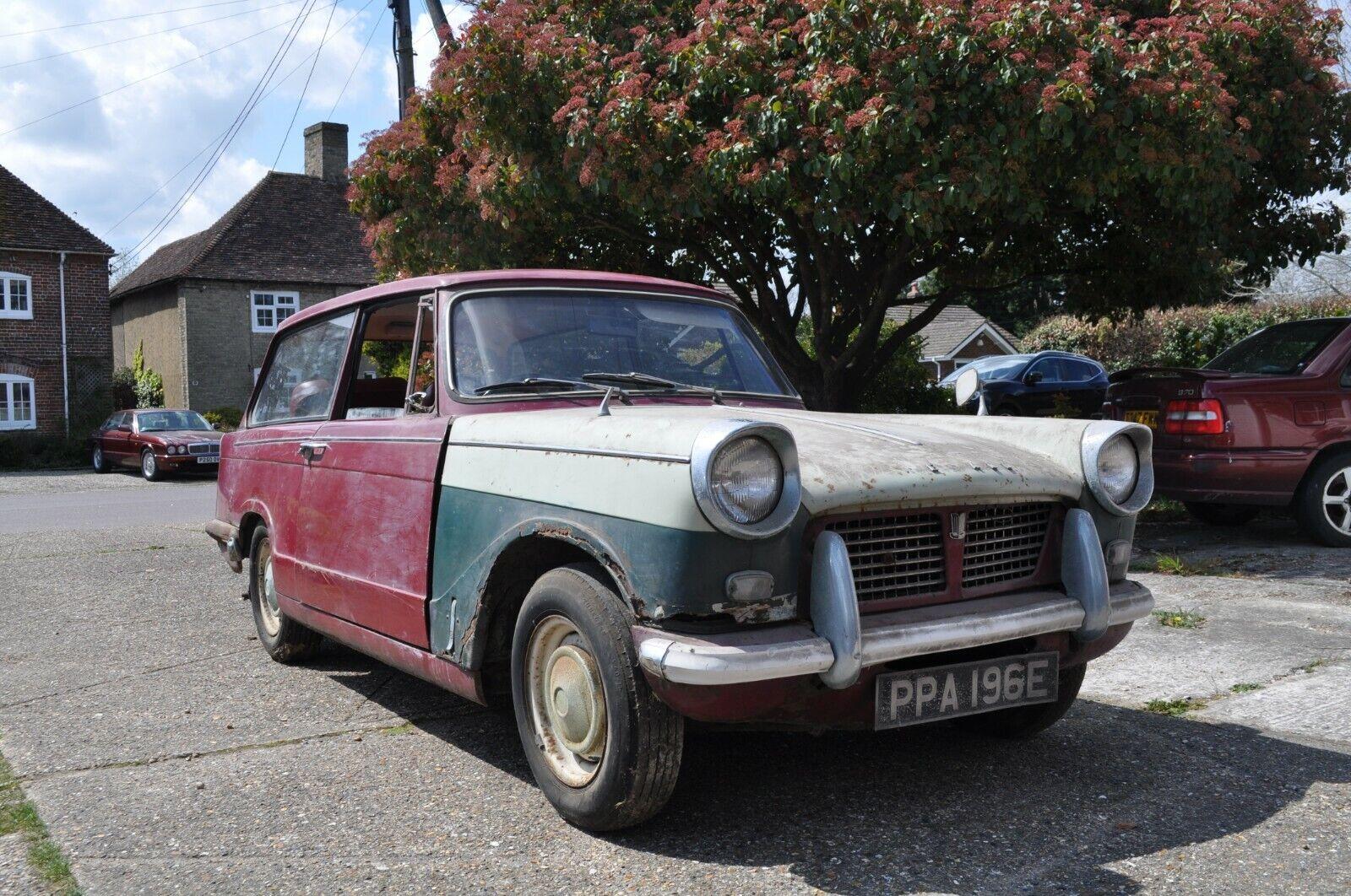 1967 Triumph Herald 1200 Estate Classic Restoration Project