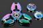 Multicolor-Hand-Spinner-Wurfstern-Optik-Fidget-ADHD-ADS-EDC-Anti-Stress-Top-WoW Indexbild 1