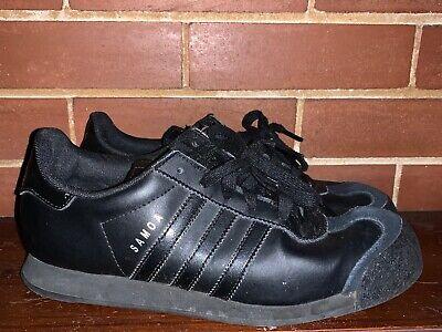 ADIDAS Black SAMOA Suede \u0026 Leather