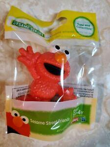 Details About Sesame Street Friends Elmo Figurine Cake Topper Figure 2 1 2 Tall