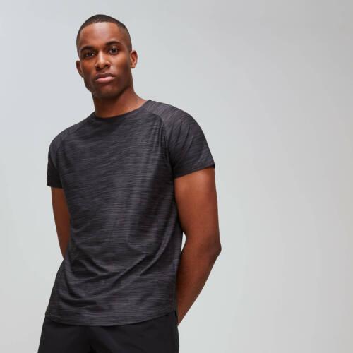 Men/'s Dry Tech Training Essentials T-Shirt-ardoise chiné Mon protéine