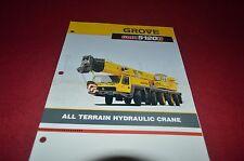 Grove GMK5120B All Terrain Hydraulic Crane Dealer's Brochure DCPA6
