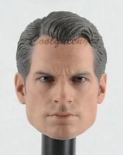 Hot Toys 1/6 Scale MMS343 BVS Dawn of Justice Superman - Head Sculpt