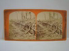 Antike Stereofoto 19.Jhd Chatillon Belagerung von Paris 1871