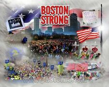 Boston Marathon 2013 8x10 Composite Photo Boston Red Sox Boston Celtics