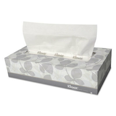 Case of 6 Packs 2-Ply Pop-Up Box Kleenex 21271CT White Facial Tissue 6 per Pack