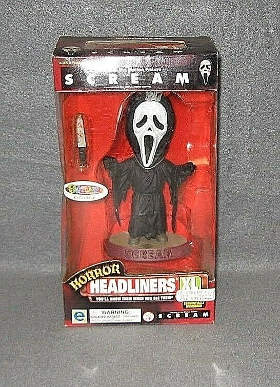 Horror HEADLINERS XL Scream Ghost Face Exclusif Spencers figurine Universel