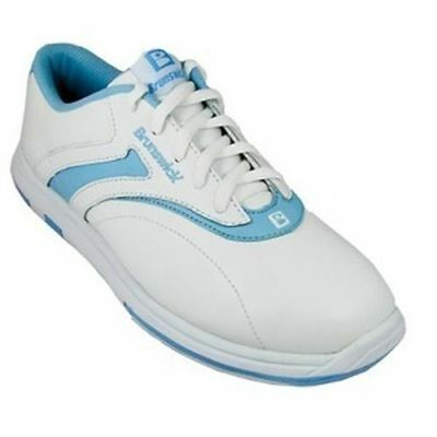 Brunswick Silk Blue White Womens Bowling Shoes Left or Right Handed SAVE $$ DSPS