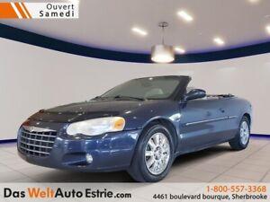 2005 Chrysler Sebring Limited, Cuir, Décapotable!