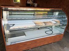 Bakery Display Casecooledrefrigeratedlarge Curved Glass Front Floor Model
