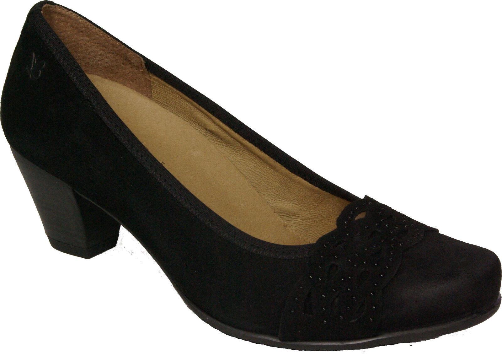 CAPRICE laufen Schuhe Pumps  schwarz echt Leder - laufen CAPRICE auf Luft - NEU 1e3f4a