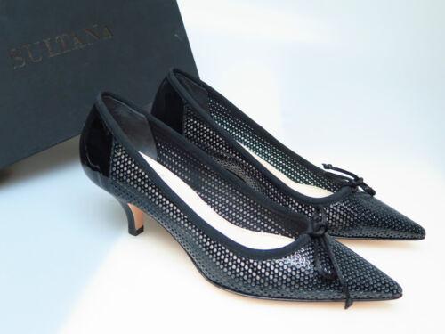 Neu Schwarz 36 N3891 Schuhe Frida Designer Sultana Gr Vernice Damenschuhe Nero 5 CT0zPTqxw