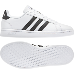 Adidas Women shoes Casual Sneakers Fashion Essentials Grand Court White F36483