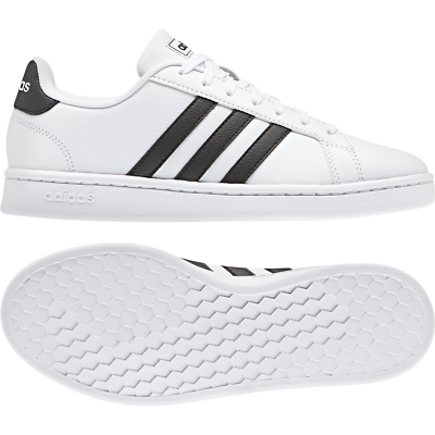 Adidas Women Shoes Casual Sneakers Fashion Essentials Grand Court White F36483 | eBay