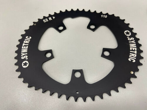 Osymetric Aluminum BCD110mm 5Bolt 52T Outer Chainring For Shimano//Sram #264001