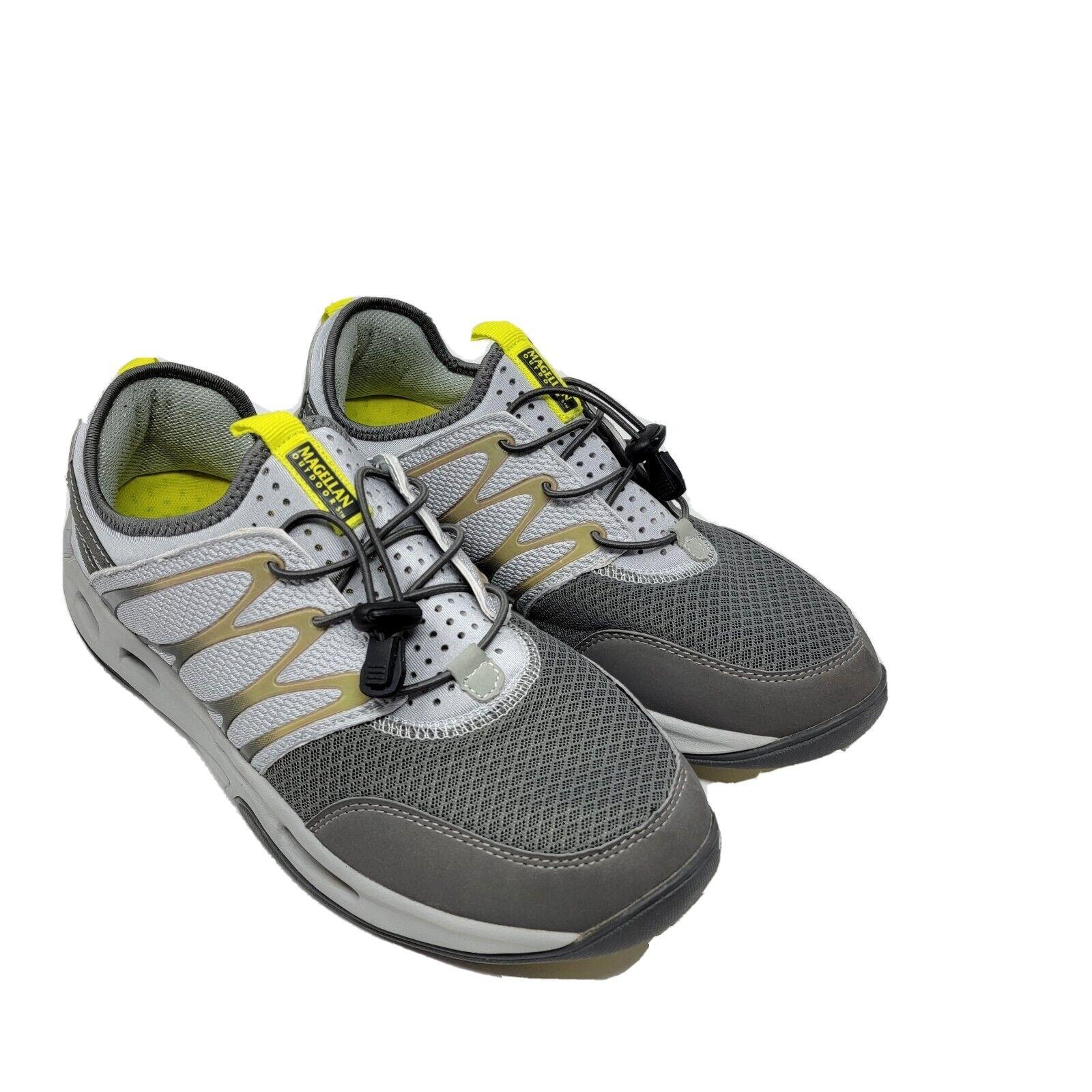 Magellan Outdoors Trail Sneakers Size 11 Gray Slip-On FWMFMC2079