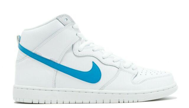 pick up 2f402 00b7c Nike SB DUNK HIGH TRD QS White Orion Blue