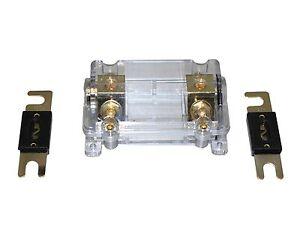 APS Free 150A ANL Digital Platinum ANL Dist Block 0-4 Gauge Fuse Holder SKFH061G