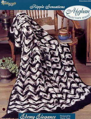 Ripple Sensations crochet pattern Kenya Ripple Afghan