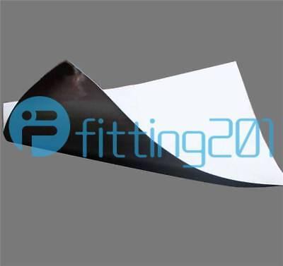 Black Silicone Rubber Sheet 12/'/'X12/'/' 1MM Self Adhesive High Temp Plate Mat