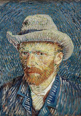 Van Gogh # 29 cm 70x100 Poster Affiche Plakat Cartel Stampa Grafica papiarte