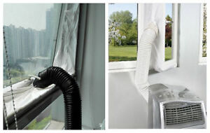 Window Hot Cold Airlock Seal Cloth For Portable Mobile Air