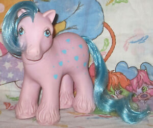 Vintage-My-little-pony-G1-Daddy-Bright-Bouquet-1987-Collector-condition-Toy-Rare