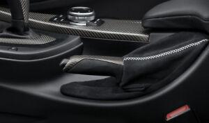 BMW M Performance F30 F31 F34 GT F32 F33 F36 Handbremsgriff Carbon Alcantarabalg