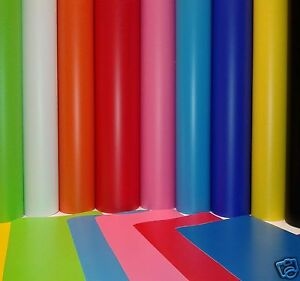 10 MTR x 610MM ROLL SELF ADHESIVE SIGN VINYL STICKY BACK PLASTIC