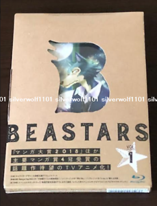 Nuevo-beastars-Vol-1-Primera-Edicion-Limitada-Blu-ray-Soundtrack-CD-booklet-Japon