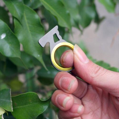 Survival Cutting Seil Gerät Beckengurt Cut Mini EDC Daumen Griff Schlüssel