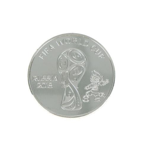 Russe 2018 Coupe du monde pièce de monnaie commémorative de football