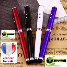 4 en 1, très jolie stylet/stylo, avec laser et lampe LED, couleur bleu ,
