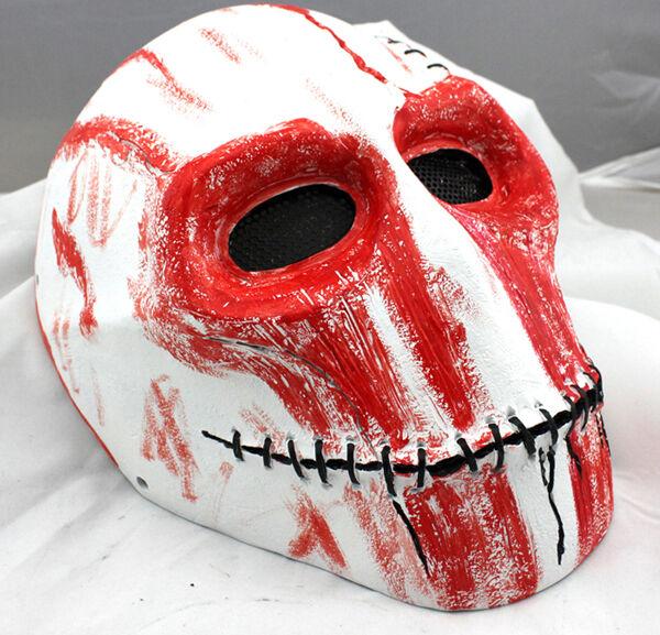 NEW Fiber Resin Mesh Airsoft Paintball Full Prossoection Orangutan skull Mask 862