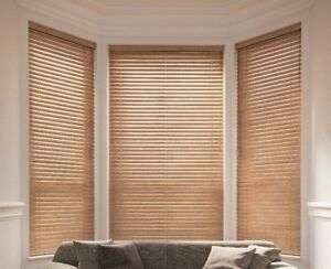 Luxury Basswood Venetian Blinds Real Wood Blinds In 10 Colours 35