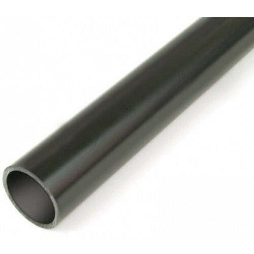 Pack of 3 x 20mm Rigid Conduit 1 Meter length Black PVC Heavy Gauge BSSH 20